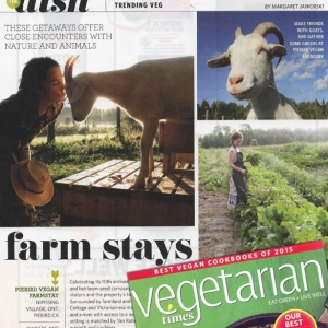 Piebird in Vegetarian Times