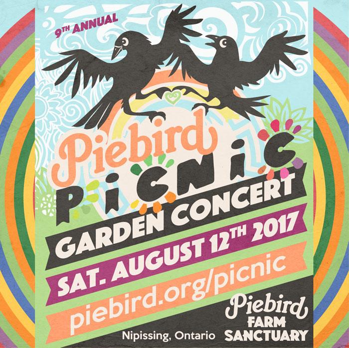 Piebird Picnic Garden Concert 2017